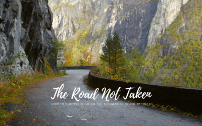 The Road Not Taken – How to survive while building a business in COVID-19 times?